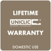 Lifetime warranty uniclic
