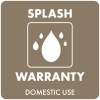 Splash warranty